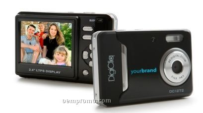 "12 Mp Digital Camera With 2.4"" Lcd"