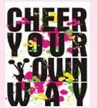 Cheer Your Own Way Logo In Stock Ink Transfers