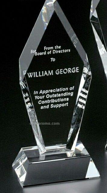"Pristine Gallery Crystal Fremont Peak Award (10 1/4"")"
