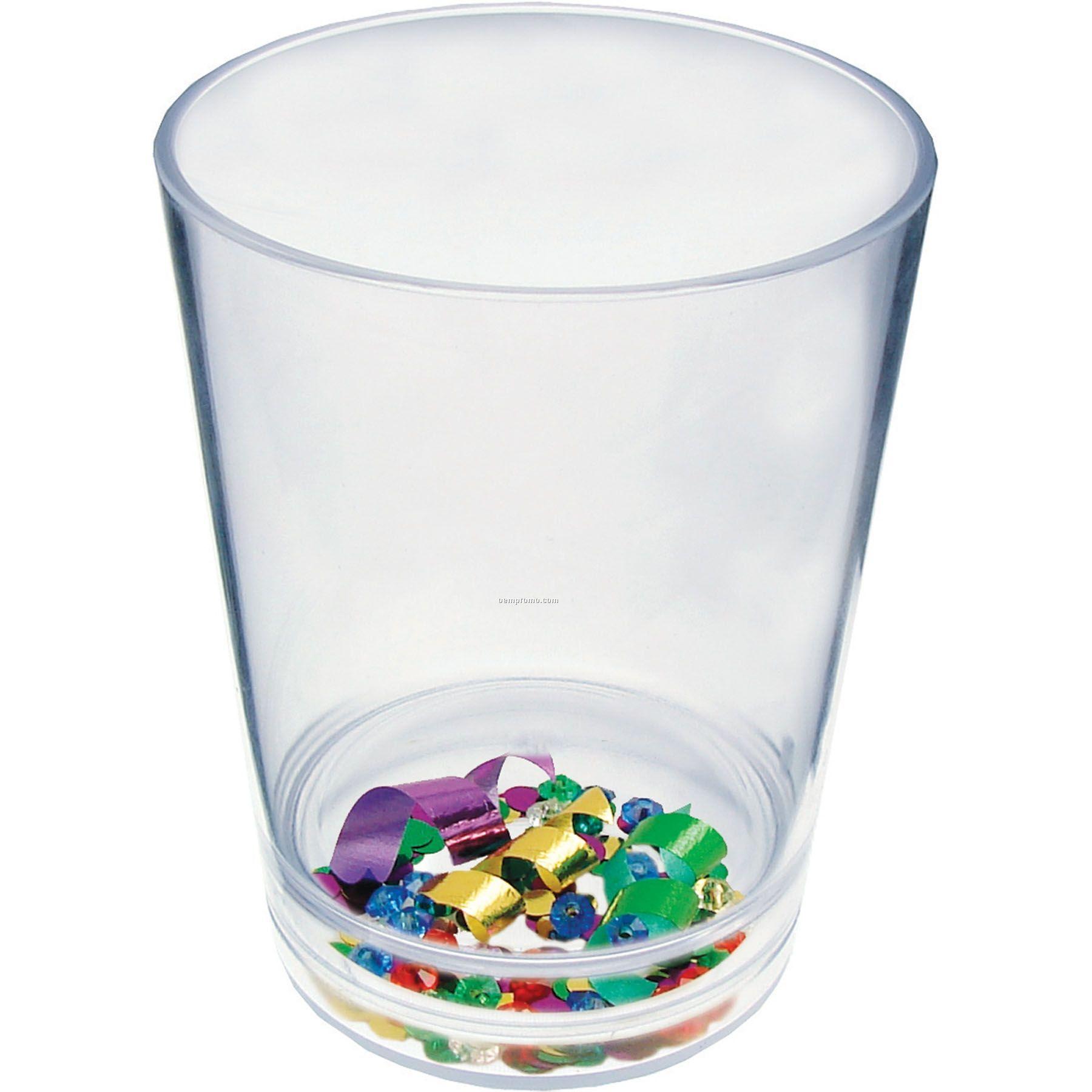 12 Oz. Mardi Gras Compartment Cup