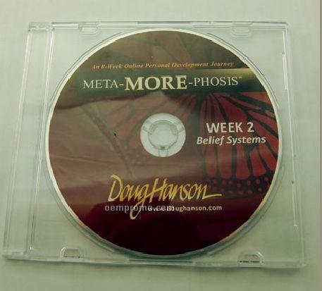 CD Replication In Slim Clear Jewel Case