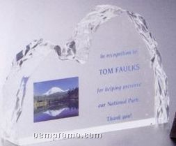 Lucite Ice Effect Award (6