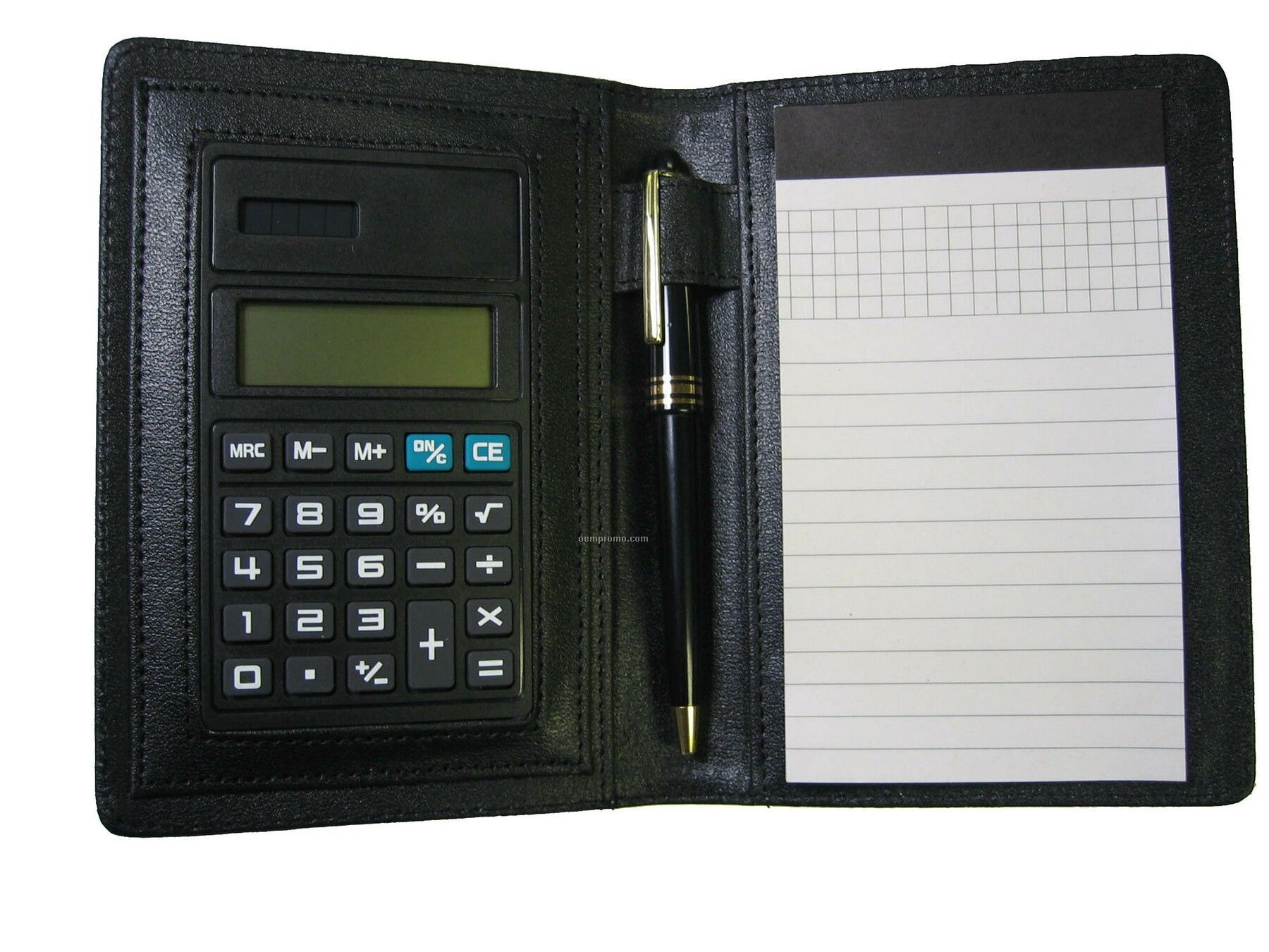 Notebook With Calculator / Pen And Memo Pad