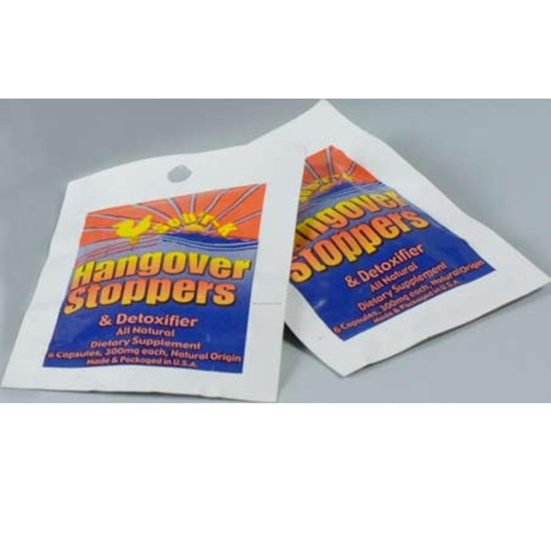 Sob'r-k Hangover Stoppers- Two Foil Packs On Blister Card