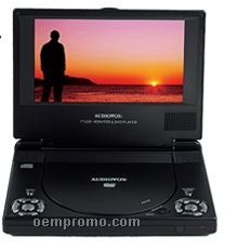 "7"" Lcd Slim Portable DVD Player"