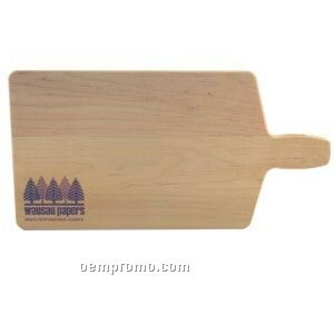 "Bread And Cheese Wood Cutting Board (16""X8"")"