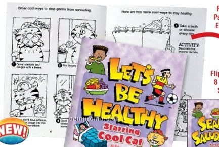 It's Cool To Be Healthy Bilingual Flip-style Book(Bilingual)