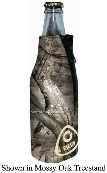 Mossy Oak Licensed Camo Premium Collapsible Foam Bottle Insulators W/Zipper