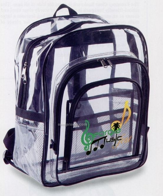 The Big Clear Backpack