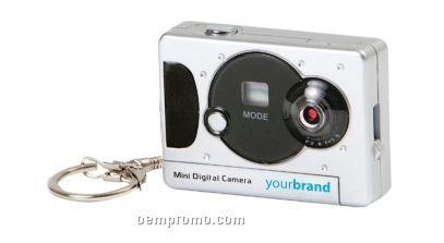Mini Digital Camera Keychain