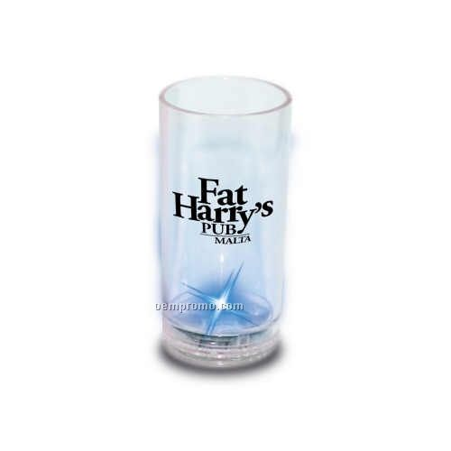 2 Oz. Light Up Shot Glass W/ Blue LED