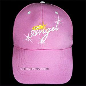 Angel Fiber Optic Light Up Cap