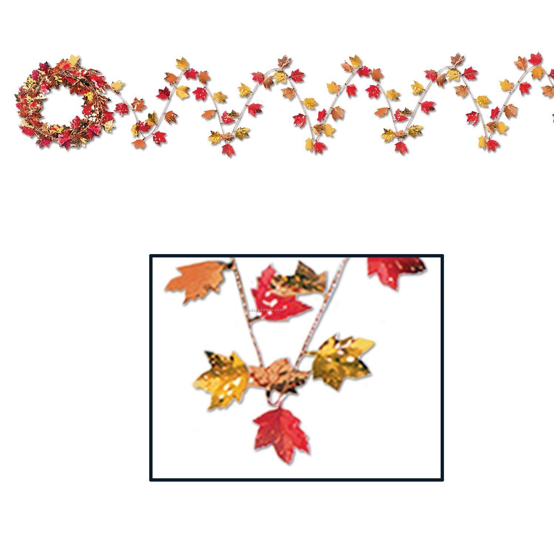 Autumn Leaf Gleam 'n Flex Wire Garlands
