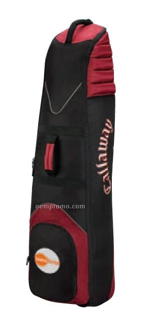 Cg Travel Black/ Red Cx Golf Wheeled Travel Cover Bag Carrier