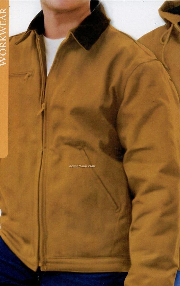 Cheyenne 12 Oz. Heavyweight Cotton Duck Quilted Work Jacket (Blank - Xs-xl)