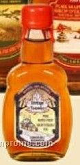 Medium Pure Maple Syrup In Roy Oval Flask 125 Ml (W/Customization)