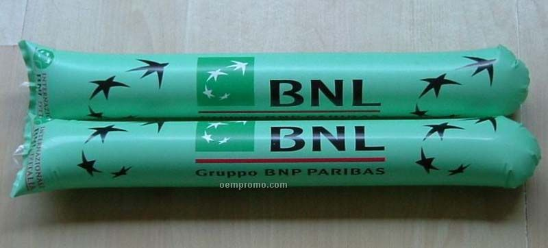 Thunder Sticks Noisemaker , Round Tip , Custom Logo Cherring Sticks (Pair)