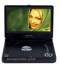 "8"" Portable Slim Line DVD Player"
