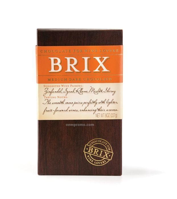 Brix Medium Dark Chocolate For Deep Red Wine