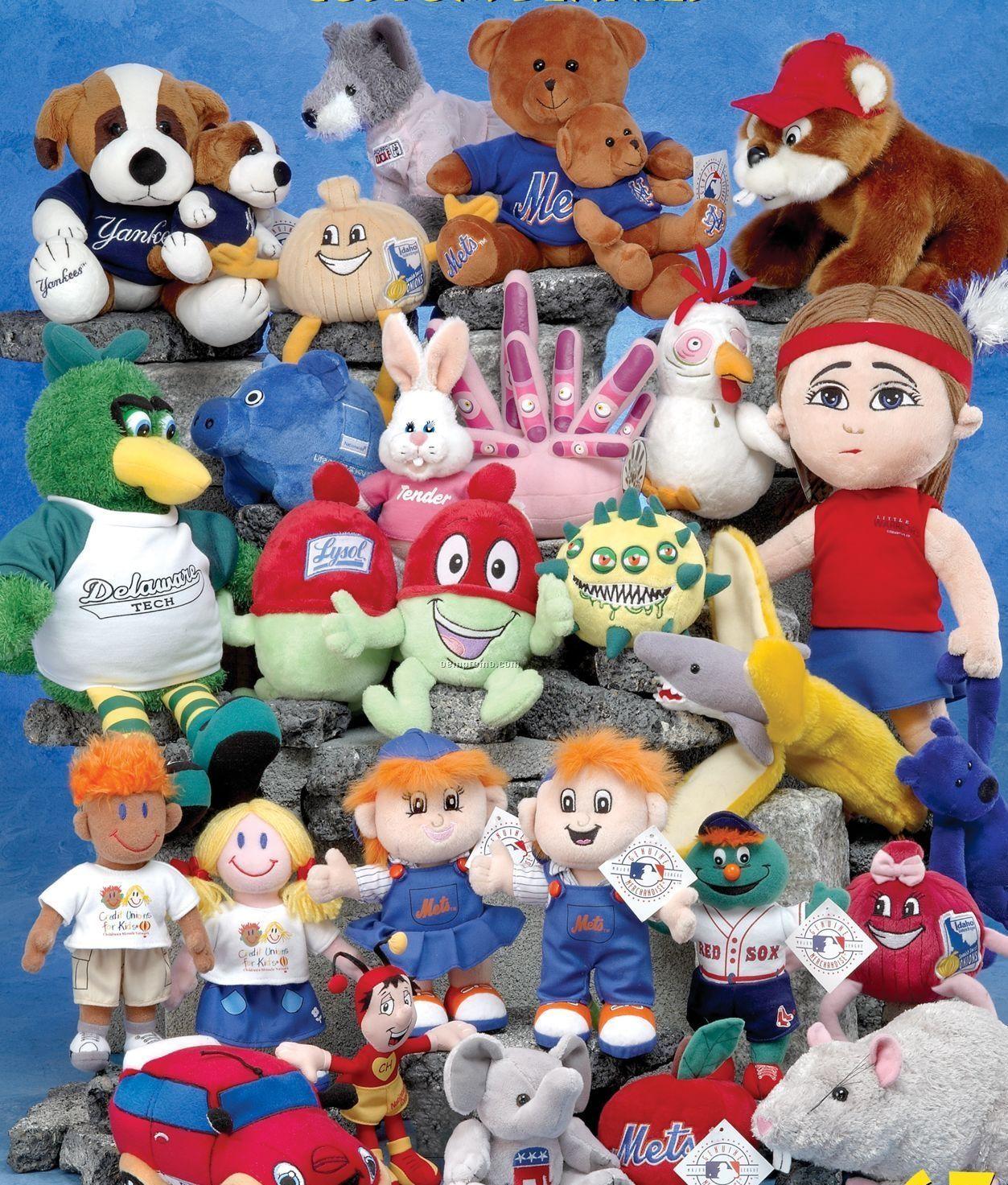 Custom Beanie Stuffed Animals