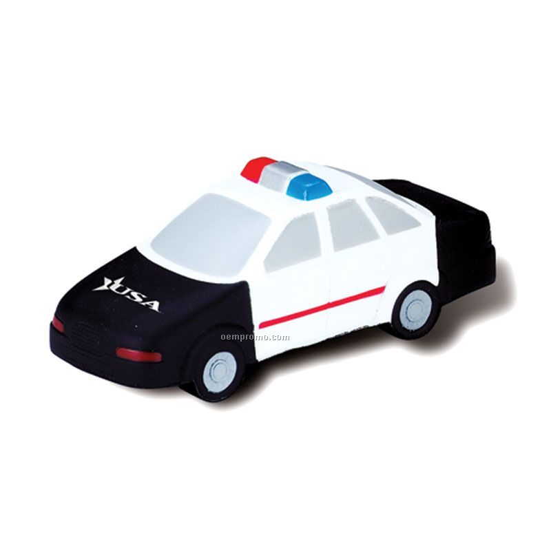 Toy Police Car Police Car Squeeze Toy