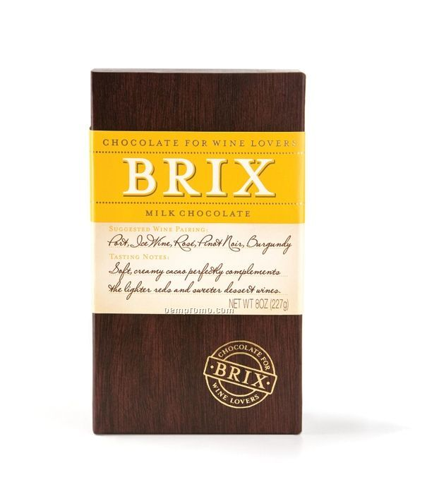 Brix Milk Chocolate For Lighter Red And Dessert Wines