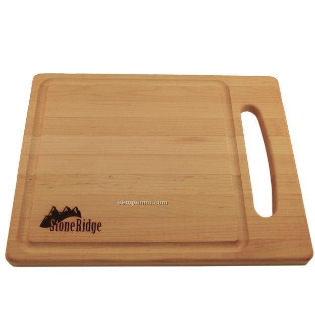 """Deluxe Wood Cutting Board (15""""X12""""X3/4"""")"""
