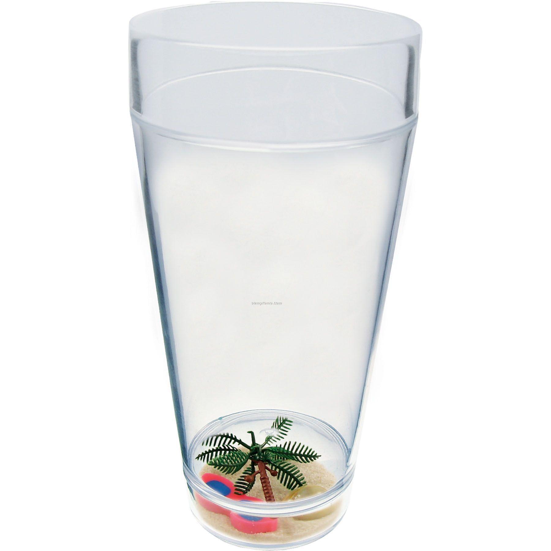 20 Oz. Beach Compartment Cup