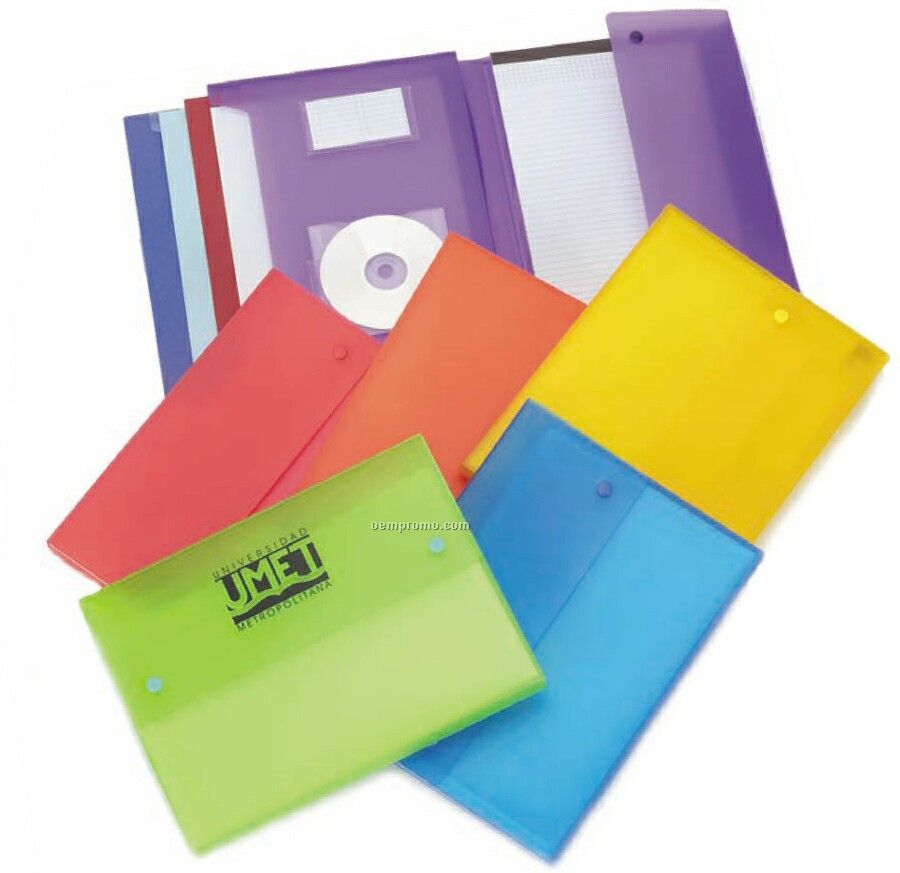 Expanding File W/ In-out Pocket & Memo Pad