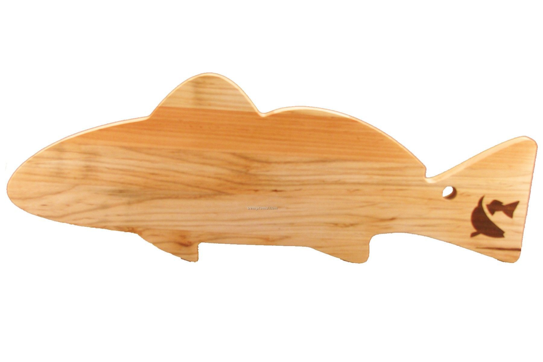 Fish Shaped Wood Cutting Board