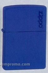 Royal Blue Matte Zippo Lighter