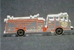 Acrylic Paperweight Up To 16 Square Inches / Fire Truck