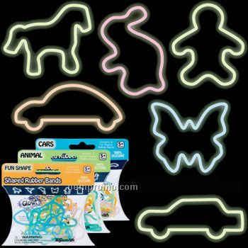Glow In The Dark Silly Rubber Band