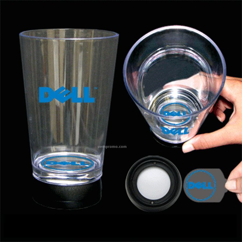 Bottom Lit Projection 16 Oz. Drinking Glass