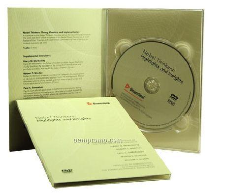 DVD Replication In 4-panel Dvd-sized Digipak (DVD 5)