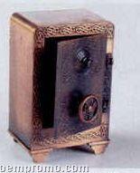 Early American Bronze Metal Pencil Sharpener - Safe