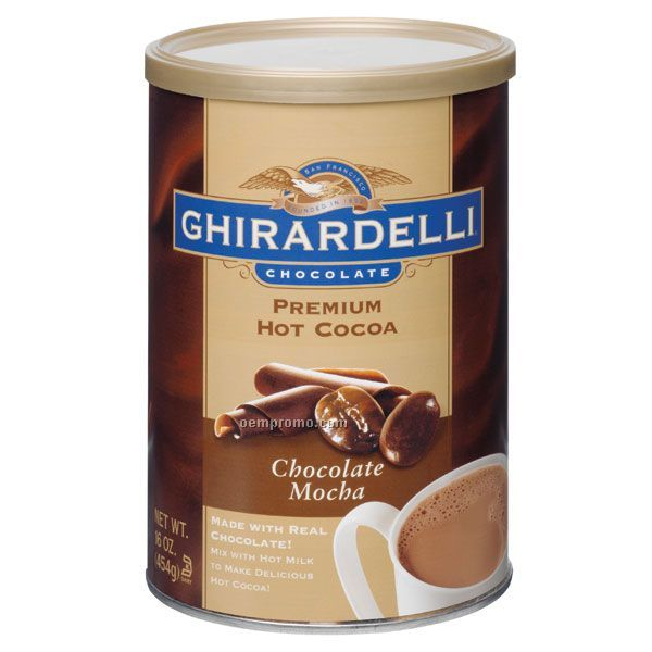 Ghirardelli Chocolate Mocha Cocoa Can