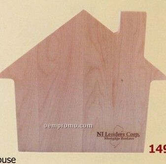 House Shaped Wood Cutting Board