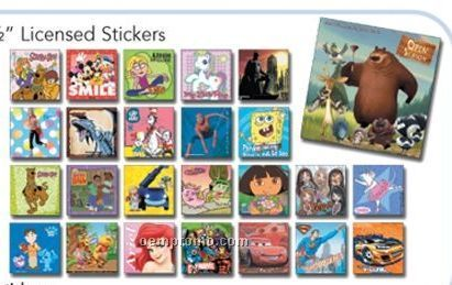 Licensed Sticker Assortment