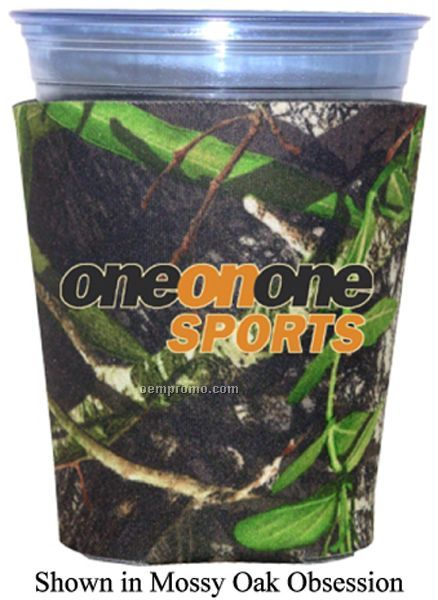 Mossy Oak Licensed Camo Premium Collapsible Foam Solo Style Cup Insulators