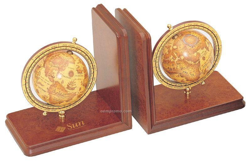 Ceo Globe Bookends
