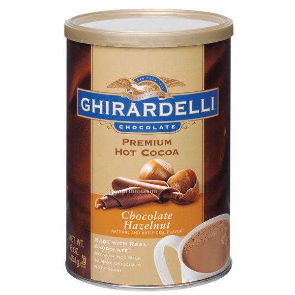 Ghirardelli Chocolate Hazelnut Cocoa Can
