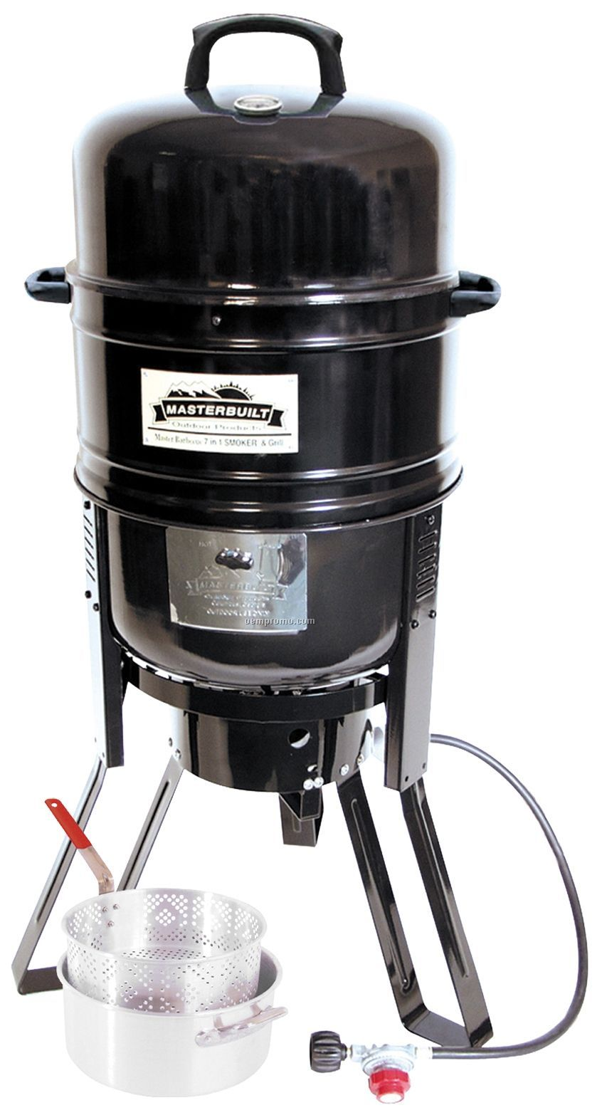 Masterbuilt 7-in-1 Smoker And Grill