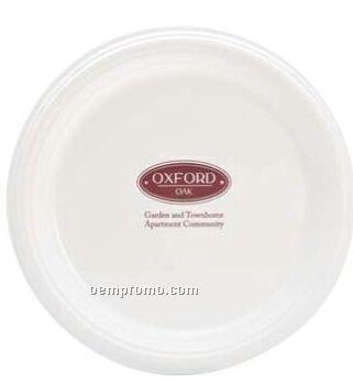 """Premium 9"""" White Plastic Plate"""