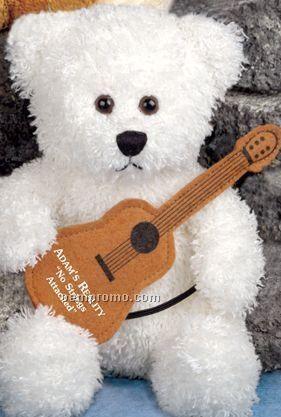 """8"""" Waverly Bear Stuffed Polar White Bear"""