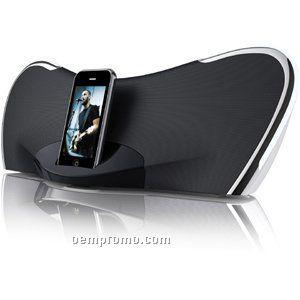 Stereo Speaker System W/ Ipod Docking