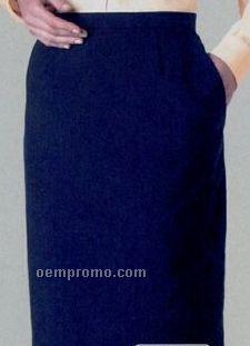 Edwards All Cotton Straight Skirt