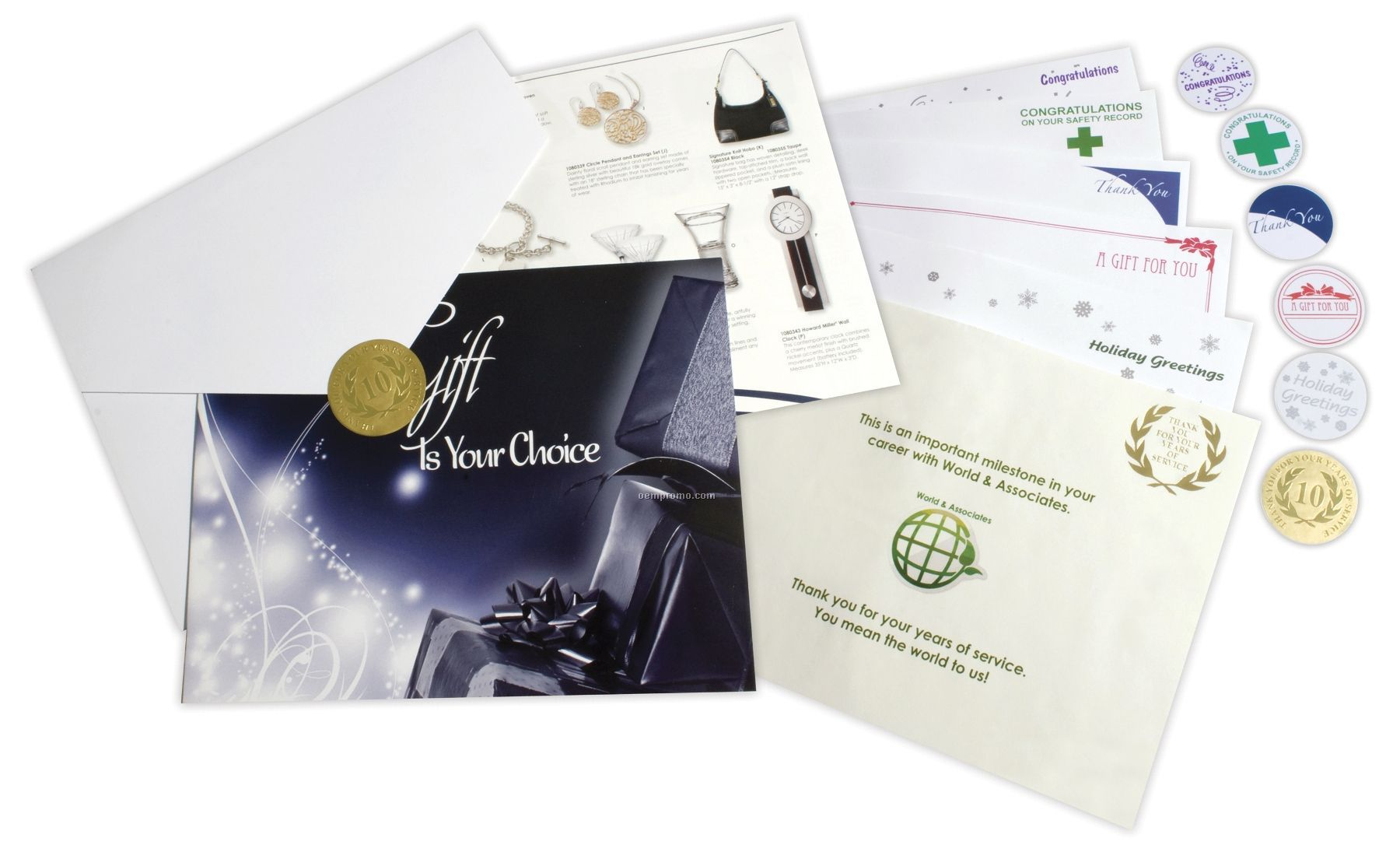 $1250 Gift Of Choice (Amber Level) Gift Booklet