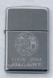 High Polish Chrome Zippo Lighter