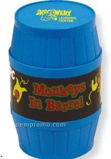Monkeys In Barrel Game (Printed)